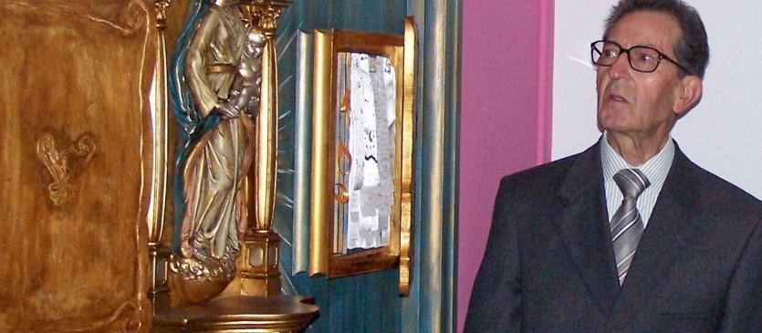 foto padre pitinha nos 25 anos do csps
